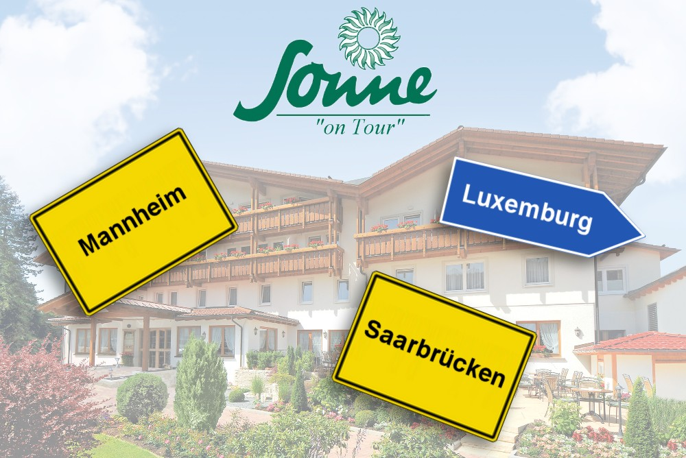 "Wellness Hotel Sonne Baiersbronn ""on Tour"""